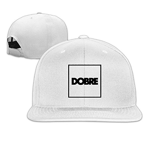 Era Satin Hat - Unisex Woman Mens Dobre Brothers Hip Pop Cotton Cap White