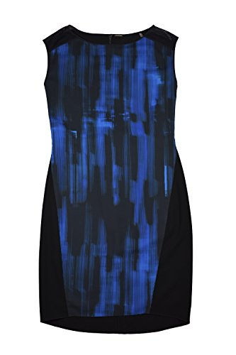 - Elie Tahari Logan Blue Belted Dress 12