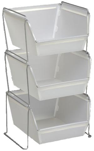 Attirant Storage Solutions 0665 Small Poly Stacking Basket