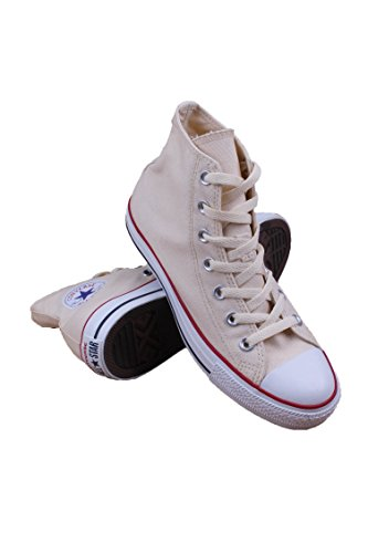 Converse Unisex Chuck Taylor All Star Core Hi Natural White Men's 6.5, Women's 8.5 Medium