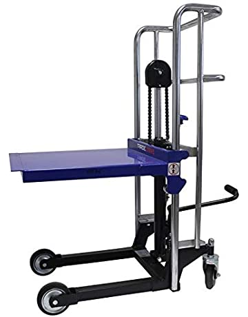 Mesa elevadora hidráulica - Carretilla de plataforma - Apiladora - 400 kg