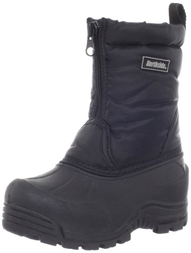 Northside Icicle Winter Unisex Boot (Toddler/Little Kid/Big Kid),Black,7 M US Big Kid (Kid Boys Snow Big Boots)