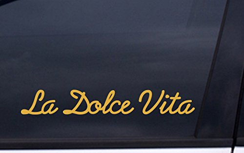 LA DOLCE VITA vinyl decal 2