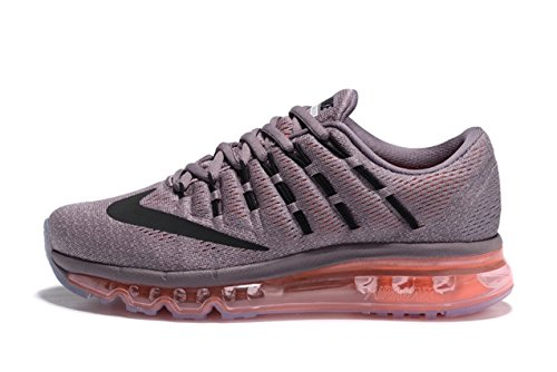 d964ffda5a6f Nike Airmax 2016 Grey Orange Running Shoes for Womens  Buy Online at Low  Prices in India - Amazon.in