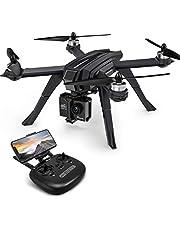 Potensic D85 GPS Drone en Forme de Monstre avec C6000 1080P Caméra Fonction Retour à la Maison, Mode Suivez-Moi, Moteur Non-brossé, Vitesse de 5G WiFi Transmission d'image Plus Rapide