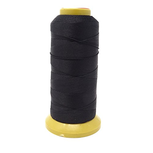 Honbay Black Jewelry Bead Thick Thread Cord Sewing Threads 0.4mm 524 Yard Spools
