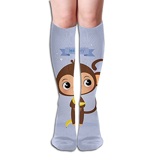 Tube High Monkey Keen Sock Boots Compression Long Stockings For Athletics,Travel Socks]()