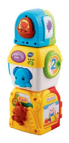 VTech Stacking Animal Squares, Baby & Kids Zone