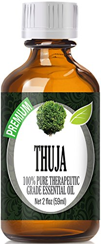 Guaiacwood Essential Oil - Thuja (60ml) 100% Pure, Best Therapeutic Grade Essential Oil - 60ml / 2 (oz) Ounces