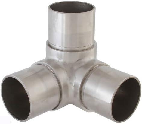 T-Stück Verbinder für Rohr 33,7 x 2,0 mm V2A