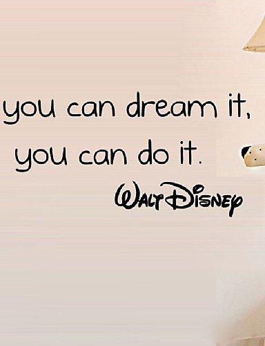 Si Puedes Soñarlo Puedes Hacerlo Inspiradoras Citas Pared Pegatinas
