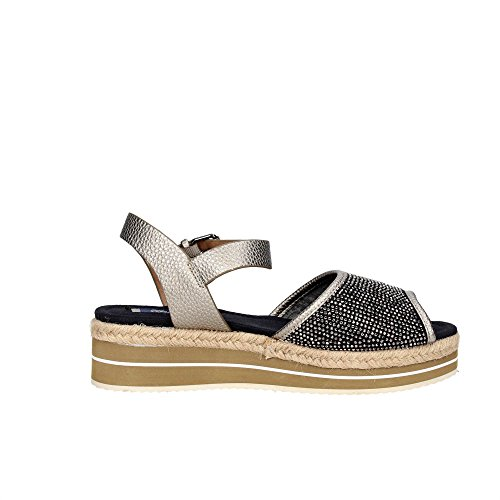 Wrangler WL171652 Zapatos De Cuña Mujer Gris