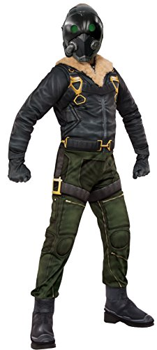 [Rubie's Costume Spider-Man Homecoming Child's Deluxe Vulture Costume, Large, Multicolor] (Vulture Mask)