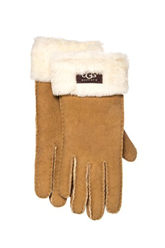UGG Women's Classic Turn Cuff Glove Chestnut SM by UGG