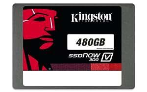 Kingston Digital 480GB SSDNow V300 SATA 3 2.5 (7mm height) Solid State Drive (SV300S37A/480G)
