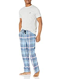 Men's Flannel Pant Pajama Set