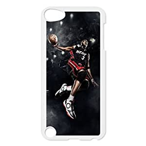 I-Cu-Le Customized Print Dwyane Wade Pattern Hard Case for iPod Touch 5