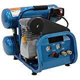 Puma 4-Gal. 2 HP Electric Direct Drive Single Stage Twin Stack Hand Carry Air Compressor