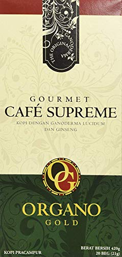 Organo Gold Cafe Supreme 100% Certified Ganoderma Extract Sealed ()