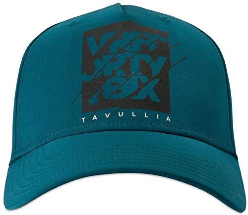 Valentino Rossi Vr46 Lifestyle cap Hombre Azul//Verde Un tama/ño