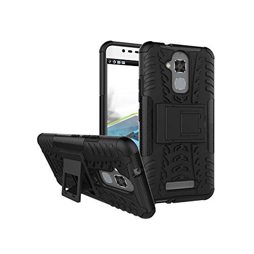 Slim Armor Case For Asus Zenfone 3 Max (Black) - 1