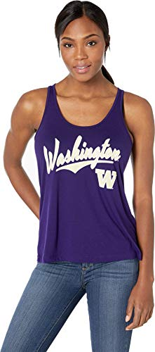 Champion College Women's Washington Huskies Eco¿ Swing Tank Top Collegiate Purple Small