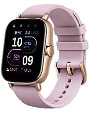 Amazfit Smartwatch GTS 2e GPS 1,65 tum Aktivitetsmätare för fitness och hälsa med 90 sportlägen, 14 dagars batteritid, övervakning av SPO2, puls, sömn, stress för män och kvinnor
