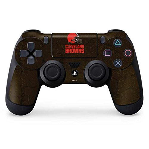 Price comparison product image NFL Cleveland Browns Distressed Skin for Sony PlayStation 4 / PS4 Dual Shock4 Controller