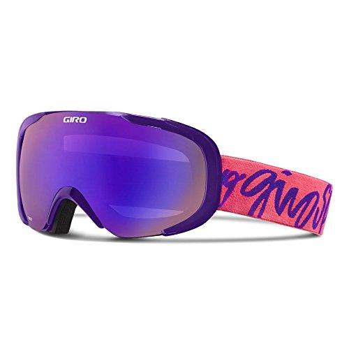 Giro Snow GSG3011 Women Field Googles ( Frame: Purple Script/Lens: Grey Purple ) Field Womens Helmet