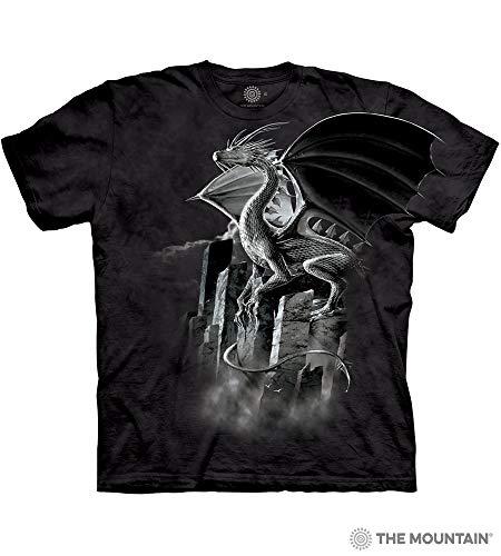 Dragon Adult T-Shirt, Black, 2XL ()