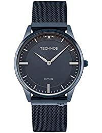 Relógio Technos Feminino Slim Azul 9t22an/4a