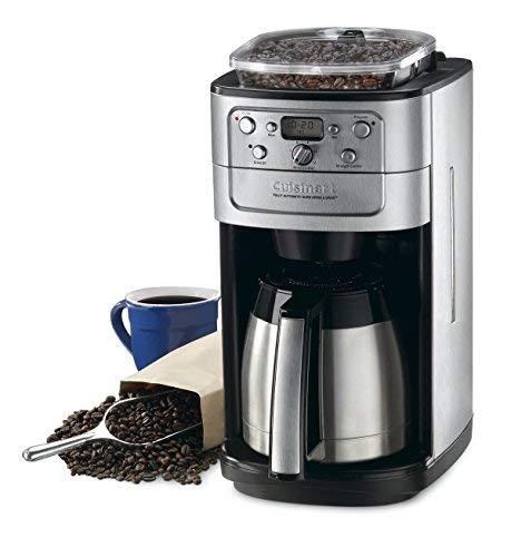 Amazon.com: Cuisinart Grind & Brew 10-Cup - Cafetera térmica ...