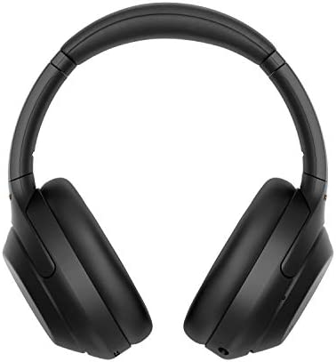 Sony WH-1000XM4 Wireless Industry Leading Noise Canceling Overhead Headphones with Mic for phone-call and Alexa voice control, Black 41fupPHvCfL