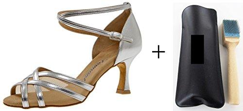 035–087–013Scarpe da danza diamante, MC Spazzola per danza aufrauh