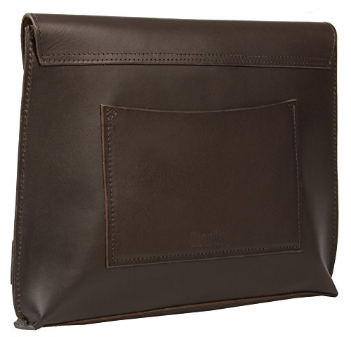 Brown Men's Signature Uberbag Leather Tanned Clutch Vetable zfESwSq