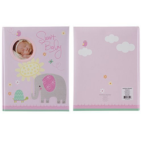 C.R. Gibson Stepping Stones Baby Memory Book For First Five Years Boys Or Girls by CR Gibson (Image #2)