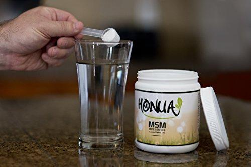 Honua Opti MSM Organic Pure Sulfur Crystals – Course Flakes – 1 Pound