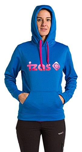 Fluor Azul Mujer Cadi Sudadera Izas Royal rosa qnaZFF