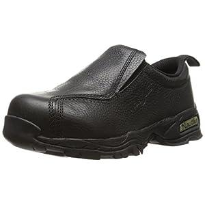Nautilus 1631 Women's ESD No Exposed Metal Safety Toe Slip-On,Black,7.5 W US