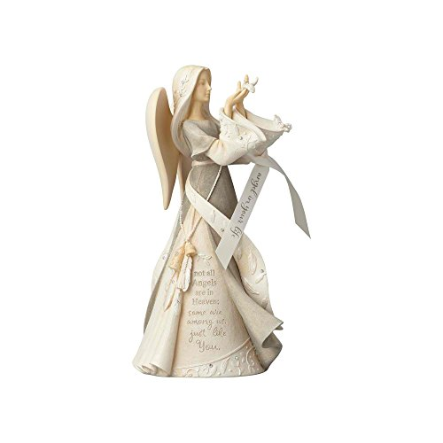 Foundations Angel in Your Life Stone Resin Figurine, 9.25""