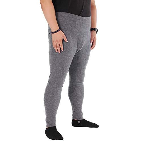 Winter Men Thermal Underwear Men's Cotton Pants Long Johns,Dark Grey,5XL (Womens Pants Polypro)