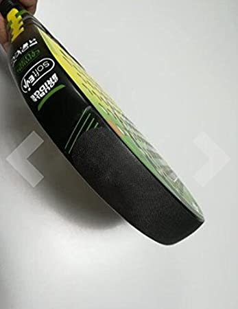 Protector Pala de Padel Basico colores silicona rugosa (Negro)