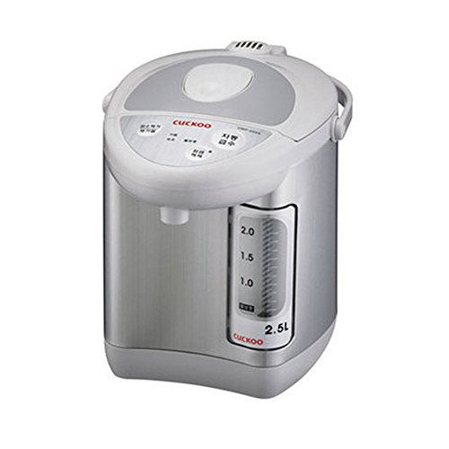 CUCKOO CWP-253G 2.5L Electric Thermal insulation port Tea Pot Flourine Coated Stainless Water Tank 220V by Cuckoo
