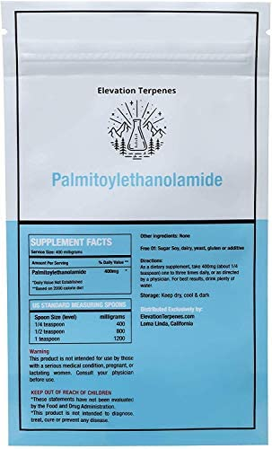 USA LAB Tested Bulk Ultra-micronized Palmitoylethanolamide Powder 99 Pure 25 Gram
