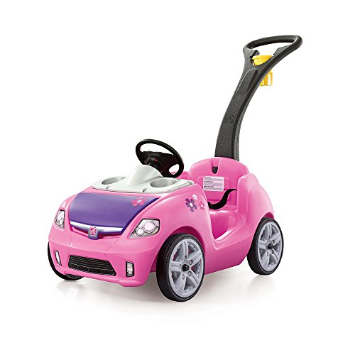 Best Price! Step2 Whisper Ride II Ride On Push Car, Pink