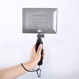 """LEDMOMO 1/4"""" Screw Sponge Handle Holder Sponge Grip Stabilizer for Digital Video Camera Camcorder LED Video Light (Blue) by LEDMOMO"""