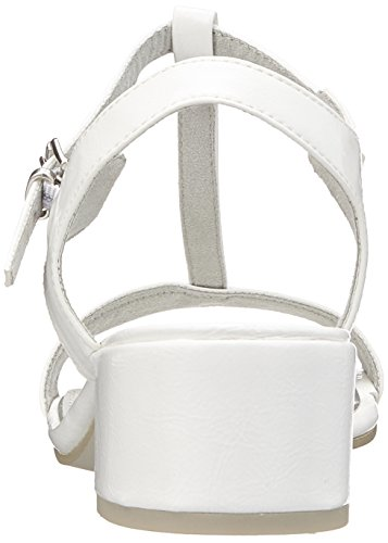 Sandali 28207 Donna Tozzi Chiusura a White con T Marco comb Bianco Pat qwEa65