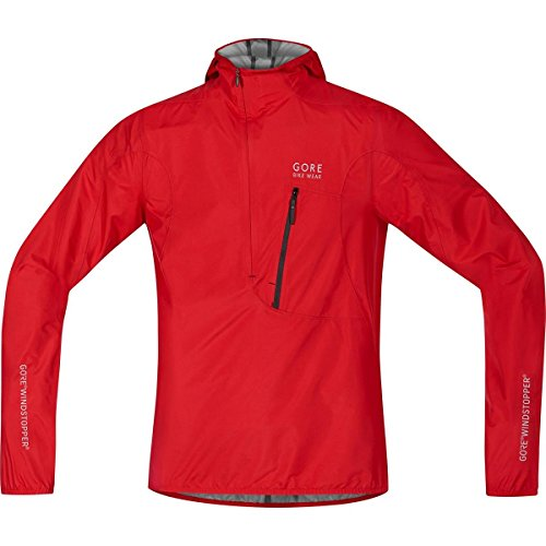 GORE BIKE WEAR Men's Rescue Bike Jacket, Extremely lightweight, Compact, GORE WINDSTOPPER, RESCUE WS AS Light Jacket, Size: XL, Red, - Spanish Triathlon City