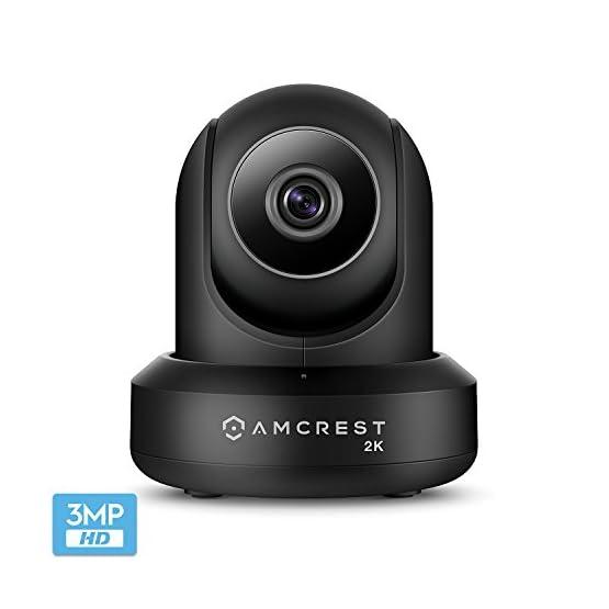 Amcrest UltraHD 2K (3MP/2304TVL) WiFi Video Security IP Camera with Pan/Tilt, Dual Band 5ghz/2.4ghz, Two-Way Audio, 3… 41fusl3JmoL. SS555