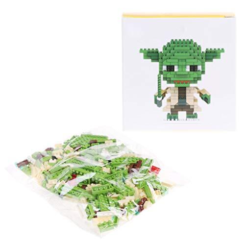 JAGENIE Mini Micro-Sized Cartoon Building Block Nanoblock Kid Gift Funny Educational Toy 4